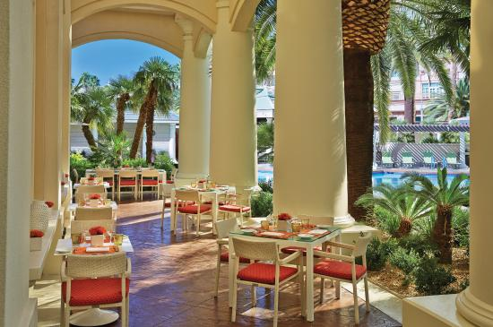 veranda at four seasons las vegas incredible italian cuisine travel by entree. Black Bedroom Furniture Sets. Home Design Ideas